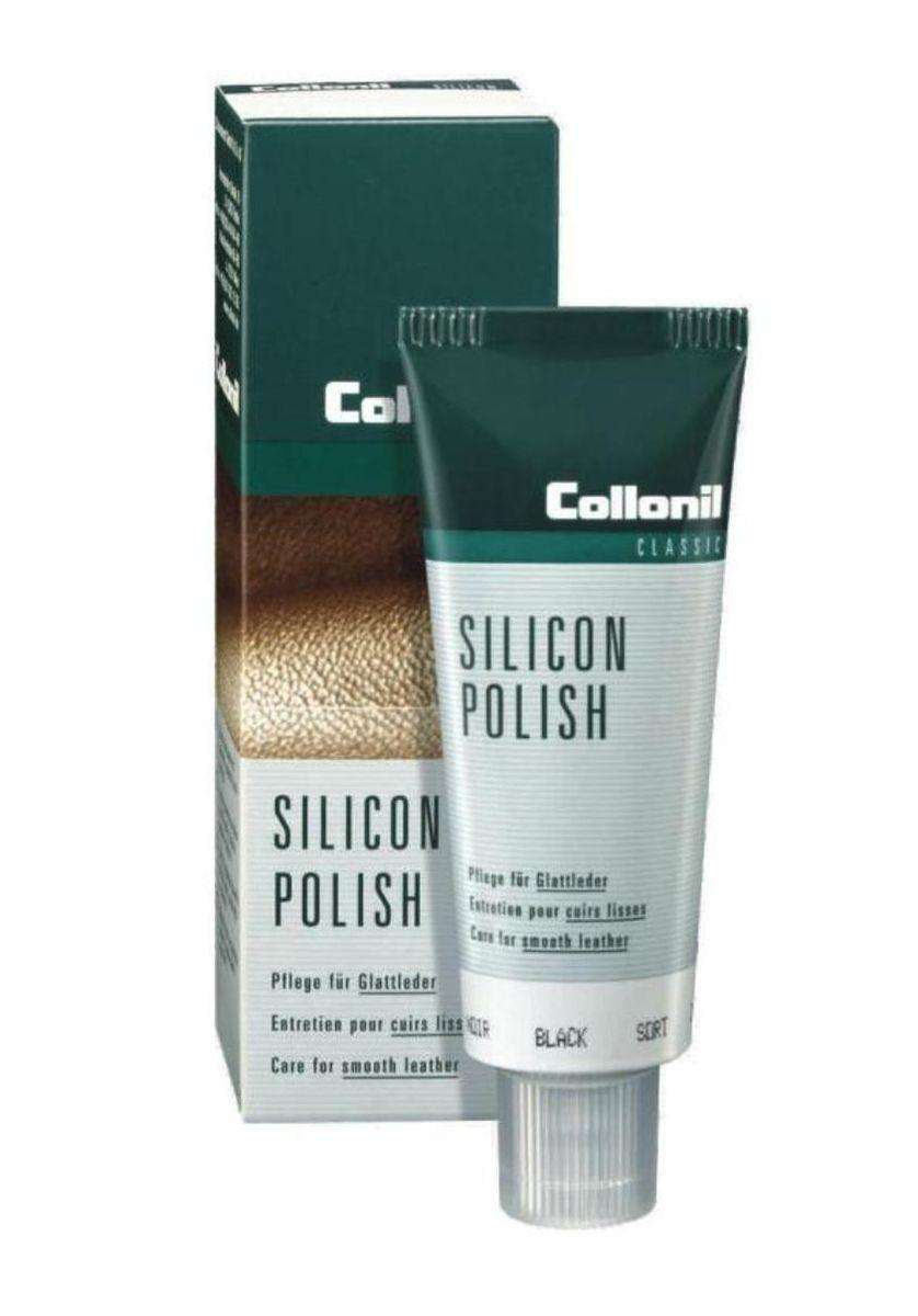 Крем для обуви, одежды, мебели Collonil Silicon Polish , цвет: 751 черный, 75 мл3143 751Пропитывающий крем для чистки, защиты и ухода за гладкой кожей.