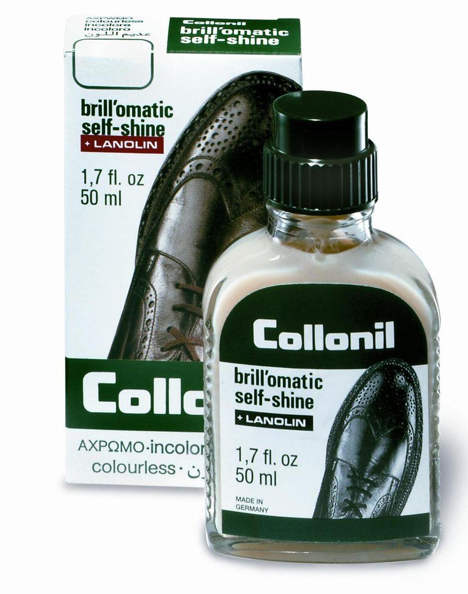 Жидкость для обуви Collonil Selbstglanz. Мгновенный блеск, цвет: нейтральный, 50 мл5282 050Жидкость для придавания сильного блеска, на восковой основе.