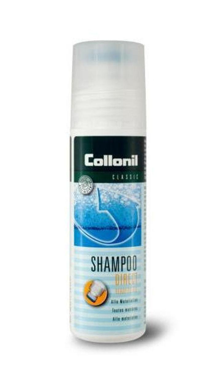 Шампунь универсальный для обуви Collonil Direct Shampoo, 100 мл5324 000Концентрированный очищающий шампунь для обуви. Чистит и удаляет глубокие загрязнения, солевые разводы и отложения на обуви. Подходит для чистки гладкой кожи, замши, велюра, нубука и текстиля.