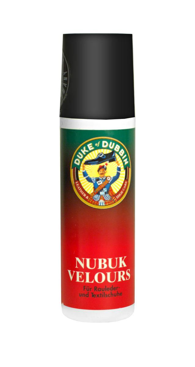 Крем для ухода за обувью из замши Duke of Dubbin Duke Velours Nubuck, цвет: 751 черный, 100 мл5814 751Жидкий крем для ухода за обувью из замши, велюра, нубука и текстиля. Защищает изделие от влаги, предотвращает образование устойчивых загрязнений. Освежает цвет и делает изделие более мягким и приятным на ощупь.