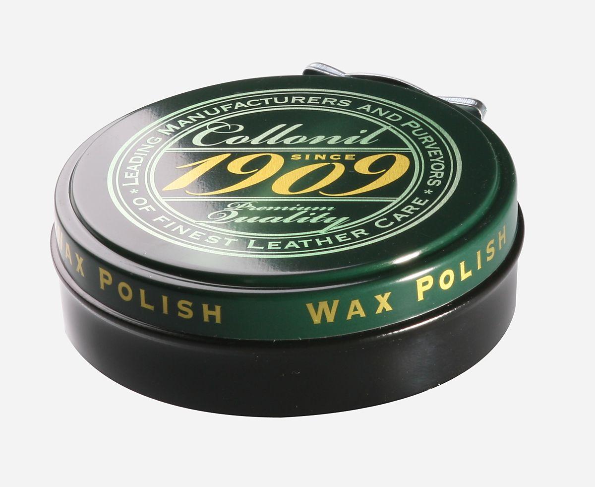 Воск для обуви Collonil Wax Polish, цвет: черный, 75 мл6063 751Высококачественный твердый воск Collonil Wax Polish подходит для всех видов гладкой кожи. Комплексное сочетание шести видов восков, в том числе натурального пчелиного воска, насыщает кожу питательными веществами, заботится о сохранении ее качества и ухоженного внешнего вида. После полировки придает обуви роскошный блеск и сияние. Применяется для финишной обработки изделия. Объем: 75 мл. Товар сертифицирован.
