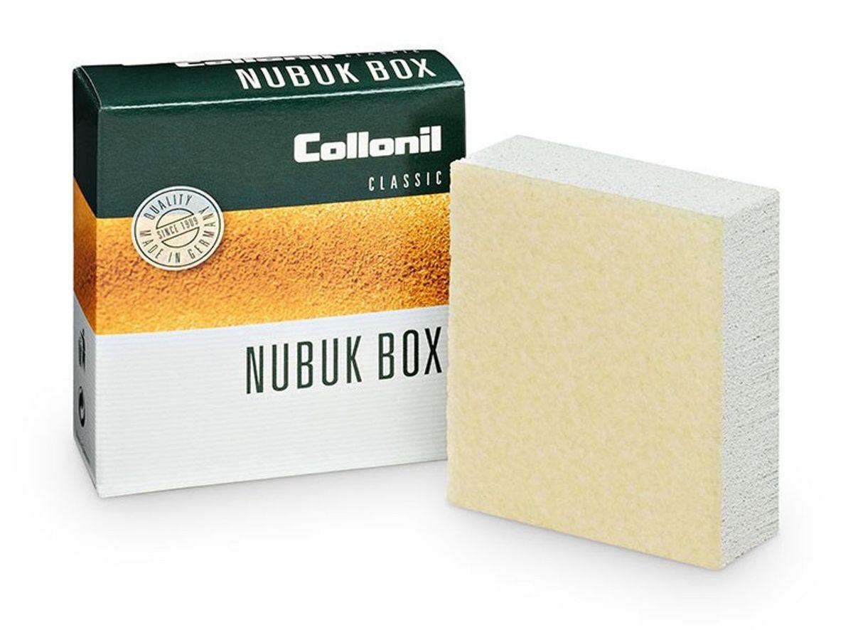 Ластик для ухода за обувью Collonil Nubuk Box/Vel.Nub.Box, для замши, велюра, нубука7030 000Ластик Collonil Nubuk Box/Vel.Nub.Box предназначен для сухой, деликатной чистки и расчесывания изделий из замши, велюра и нубука. Подходит для применения после использования пропитывающих средств и влажной чистки. Ластик двухслойный. Второй слой используется как креповая щетка. Ластик для сухой, деликатной чистки и расчесывания изделий из замши, велюра и нубука. Подходит для применения после использования пропитывающих средств и влажной чистки. Ластик двухслойный. Второй слой используется как креповая щетка. Способ применения: Чистить только в сухом виде! Потереть ластиком загрязнения и места, в которых необходимо приподнять ворс.