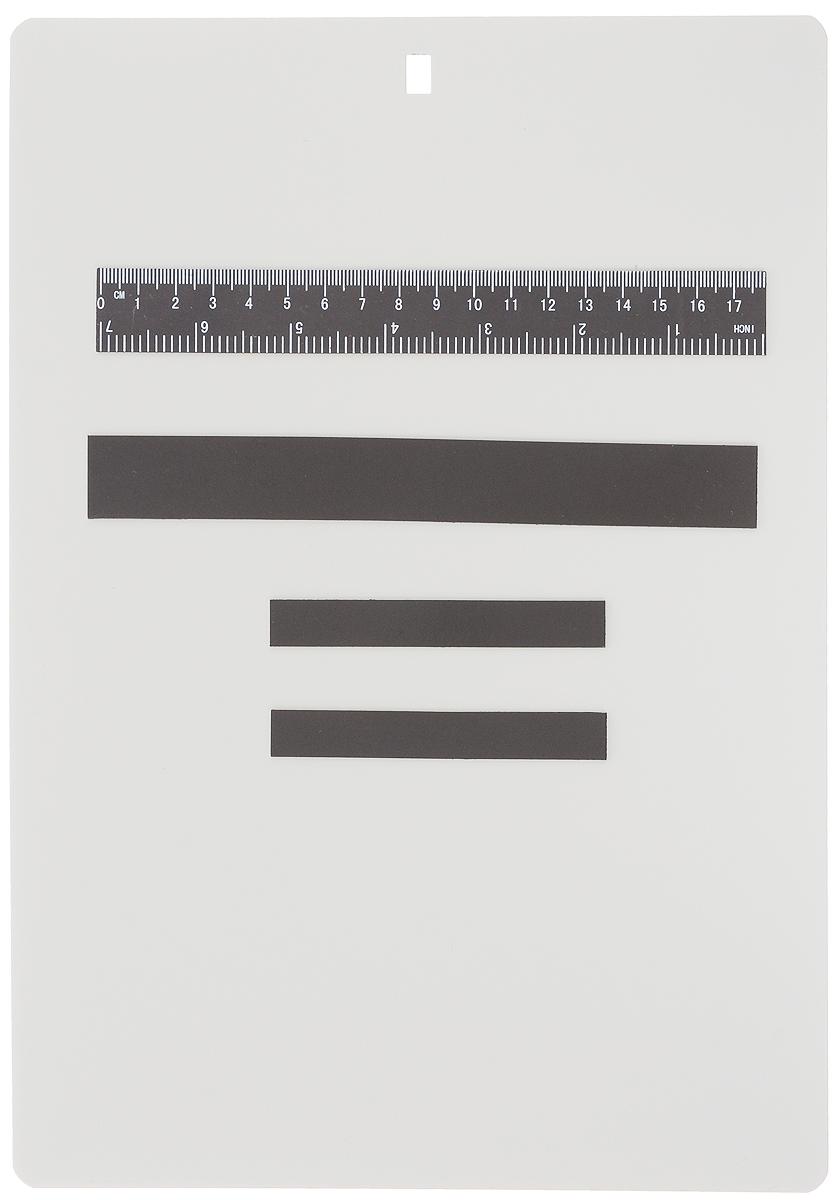 Магнитная рамка для вышивания Hemline Stitch Garden, 22 х 31 смN9116Магнитная рамка Hemline Stitch Garden размера А4 предназначена для вышивания по бумажной схеме. На такой рамке схема легко крепится магнитами, что позволяет вам быстро следовать за значками вышивки. В комплект входит магнитная линейка и три магнитных полосы. Рамка имеет отверстие для того, чтобы ее можно было вешать. Магнитная рамка Hemline Stitch Garden является портативной, разносторонней и практичной.