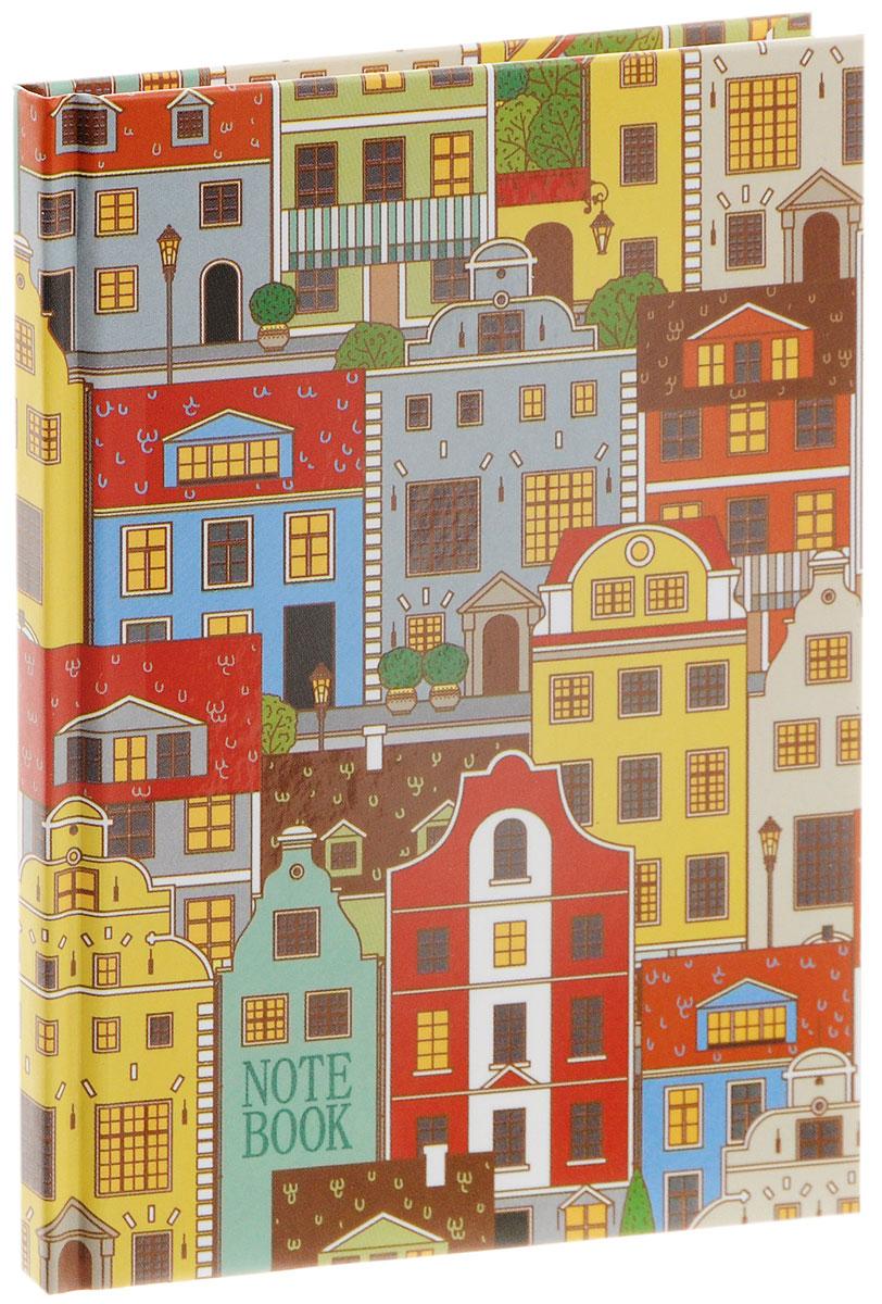 Listoff Записная книжка Красочный город 80 листов в клетку формат А6КЗЛ6801815Записная книжка Listoff Красочный город - незаменимый атрибут современного человека, необходимый для рабочих и повседневных записей в офисе и дома. Записная книжка содержит 80 листов в клетку без полей, а формат А6 поместится даже в маленькой сумочке или кармане. Обложка, выполненная из плотного картона, оформлена изображением разноцветных городских домиков. Внутренний блок изготовлен из высококачественной плотной бумаги, что гарантирует чистоту записей и отсутствие клякс. Прошитый блок гарантирует полное отсутствие потери листов. Книга для записей Listoff станет достойным аксессуаром среди ваших канцелярских принадлежностей. Она подойдет как для деловых людей, так и для любителей записывать свои мысли, рисовать скетчи, делать наброски.