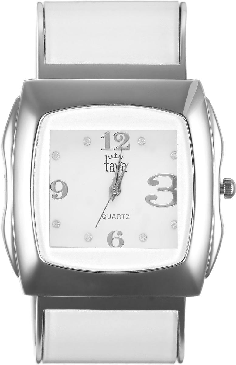 Часы наручные женские Taya, цвет: серебряный, белый. T-W-0439T-W-0439-WATCH-SL.WHITEЭлегантные женские часы Taya выполнены из металлического сплава, минерального стекла и нержавеющей стали. Циферблат часов инкрустирован стразами и оформлен символикой бренда. Корпус часов оснащен кварцевым механизмом со сменным элементом питания и дополнен раздвижным браслетом с пружинным механизмом, который позволяет надеть часы на любую руку. Часы поставляются в фирменной упаковке. Часы Taya подчеркнут изящность женской руки и отменное чувство стиля у их обладательницы.