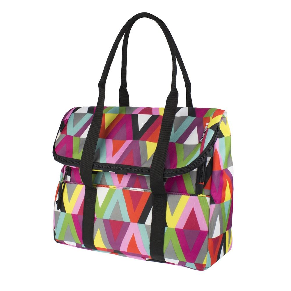 Сумка-холодильник Packit дорожная, цвет: разноцветный, 10 лPackit0017Охлаждение содержимых в сумке продуктов в течение 10-ти часов. Наличие плечевого ремня, обеспечивающего максимальное удобство транспортировки сумки.