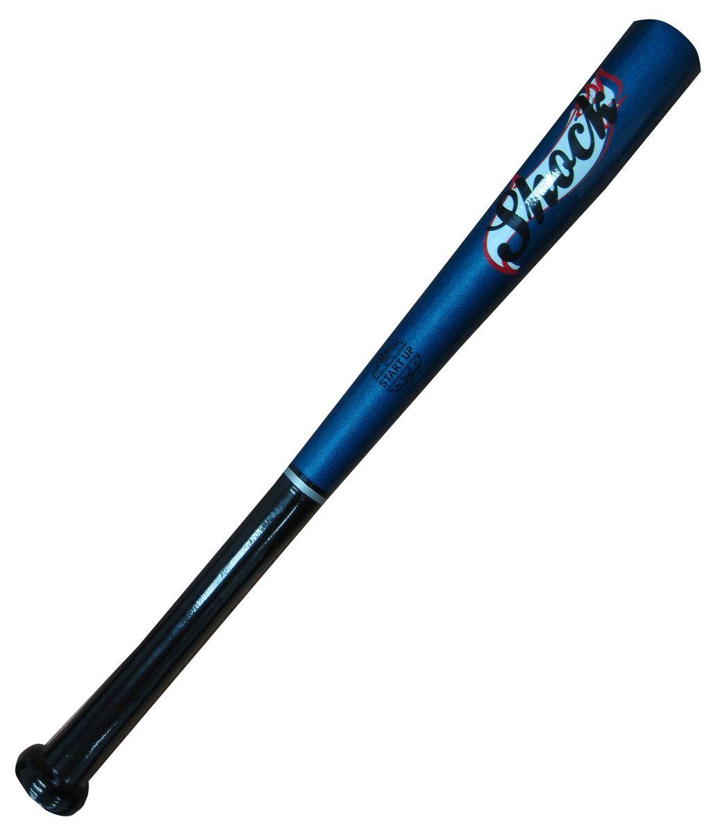 Бита бейсбольная Start UP R Shock, цвет: синий, 21339447Бейсбольная бита Start Up выполнена из каучукового дерева, а это значит, что она невероятно прочная и плотная. Размер - 21 (53 см).