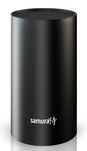 Подставка универсальная для ножей Samura, 18 см, цвет: черный. KBF-102/16KBF-102/16Все гениальное просто! Легкий пластиковый корпус и внутренняя часть в виде пластиковой щетки, которая легко вынимается. Гигиеничное хранение: корпус и щетку можно мыть под проточной водой и в посудомоечной машине. Лезвия ножей при хранении не касаются друг друга, тем самым максимально сохраняя свою остроту. Подставка вместительная от 5 до 9 ножей, в зависимости от размера ножей в ней свободно помещаются.
