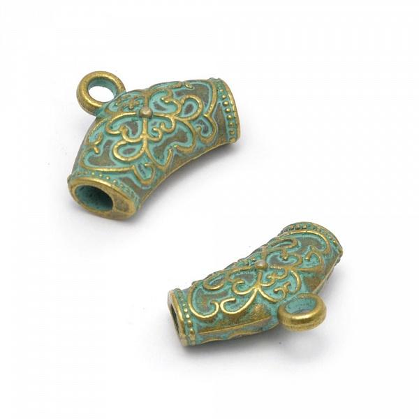 Фурнитура для бижутерии (бейл) Tesоro, 20х10мм, in d-3 мм, цвет: патина. TS.7021-СTS.7021-С