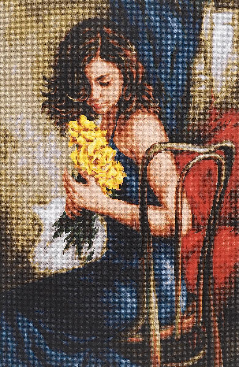 Набор для вышивания крестом Luca-S Желтые розы, 28,5 х 44 смB532Набор для вышивания крестом Luca-S Желтые розы поможет создать красивую вышитую картину. Рисунок-вышивка, выполненный на канве, выглядит стильно и модно. Вышивание отвлечет вас от повседневных забот и превратится в увлекательное занятие! Работа, сделанная своими руками, не только украсит интерьер дома, придав ему уют и оригинальность, но и будет отличным подарком для друзей и близких! Набор содержит все необходимые материалы для вышивки на канве в технике счетный крест. В набор входит: - канва Aida Zweigart №18 (бежевого цвета), - мулине Anchor - 100% мерсеризованный хлопок (46 цветов), - черно-белая символьная схема, - инструкция на русском языке, - игла. Размер готовой работы: 28,5 х 44 см. Размер канвы: 41 х 56 см.