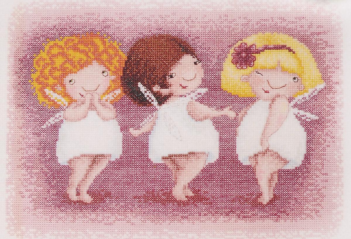 Набор для вышивания крестом Марья Искусница Три обаятельные феи, 25 х 18 см15.001.17Красивый и стильный рисунок-вышивка, выполненный на канве, выглядит оригинально и всегда модно. Работа, сделанная своими руками, создаст особый уют и атмосферу в доме и долгие годы будет радовать вас и ваших близких. А подарок, выполненный собственноручно, станет самым ценным для друзей и знакомых. В наборе для вышивания Марья Искусница Три обаятельные феи есть все необходимое для создания собственного чуда. В набор входит: - канва Aida 16 Zweigart (цвет: слоновая кость) без рисунка, - мулине Finca (хлопок) - 31 цвет, - черно-белая символьная схема, - инструкция по вышиванию русском языке, - игла Hemline. Набор содержит все необходимые материалы для вышивки на канве в технике счетный крест. Схема вышивания Три обаятельные феи выполнена по рисунку Elina Ellis. Размер готовой работы: 25 х 18 см. Размер канвы: 35 х 31,6 см.