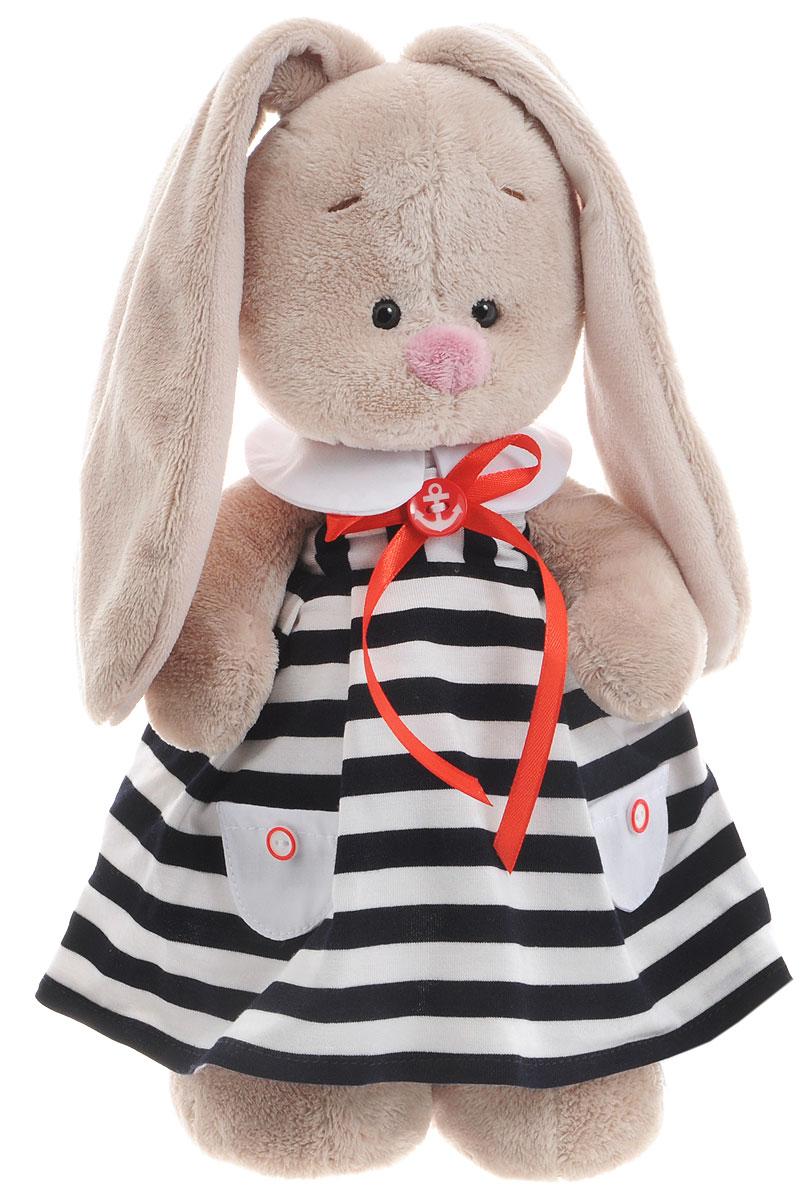 Мягкая игрушка Зайка Ми в морском платье 25 см