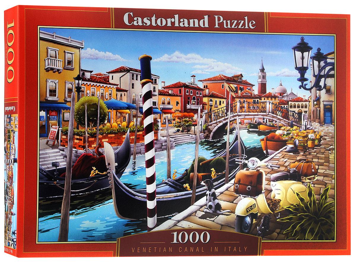 Castorland Пазл Венецианский каналC-103058Пазл Castorland Венецианский канал придется по душе всей вашей семье. Собрав этот пазл, включающий в себя 1000 элементов, вы получите живописную картину с яркой улицей Венеции, каналом и гондолой. Пазл изготовлен из картона высочайшего качества. Все изображения аккуратно отсканированы и напечатаны на ламинированной бумаге. Пазл - великолепная игра для семейного досуга. Сегодня собирание пазлов стало особенно популярным, главным образом, благодаря своей многообразной тематике, способной удовлетворить самый взыскательный вкус. А для детей это не только интересно, но и полезно. Собирание пазла развивает мелкую моторику у ребенка, тренирует наблюдательность, логическое мышление, знакомит с окружающим миром, с цветом и разнообразными формами.