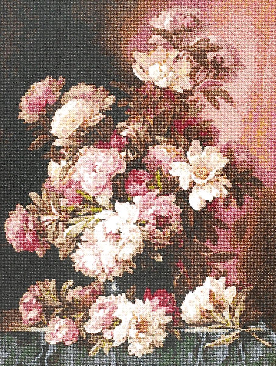 Набор для вышивания крестом Kustomkrafts Розовые и белые пионы, 35,6 х 47,1 см20257Красивый и стильный рисунок-вышивка, выполненный на канве, выглядит оригинально и всегда модно. Работа, сделанная своими руками, создаст особый уют и атмосферу в доме и долгие годы будет радовать вас и ваших близких. А подарок, выполненный собственноручно, станет самым ценным для друзей и знакомых. Набор содержит все необходимые материалы для вышивки на канве в технике счетный крест. В набор входит: - канва Aida 14 (цвет: светло-коричневый) без рисунка, - мулине (хлопок) - 38 цветов, - черно-белая символьная схема, - инструкция по вышиванию русском языке, - игла. Размер канвы: 64 х 53,5 см.