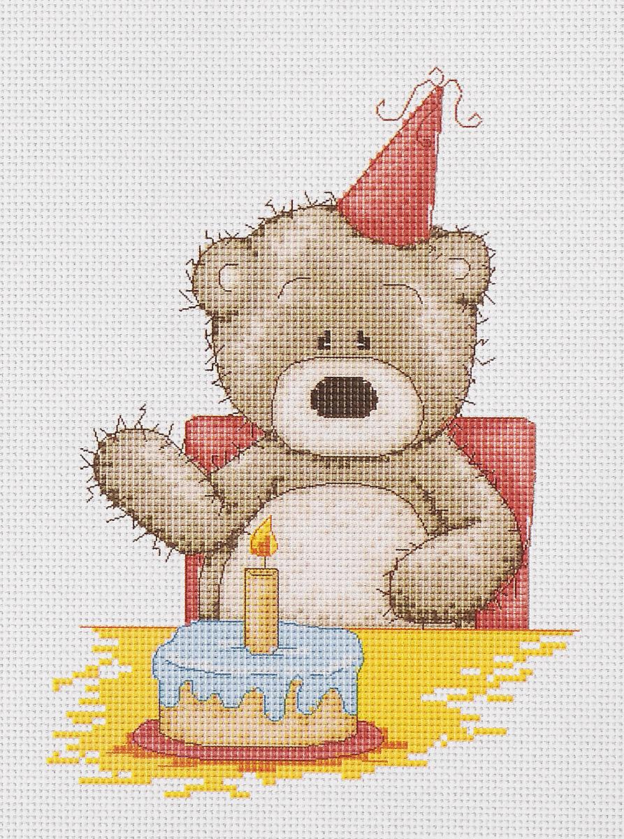 Набор для вышивания крестом Luca-S Медвежонок Бруно, 13 х 18 смB1040Набор для вышивания крестом Luca-S Медвежонок Бруно поможет создать красивую вышитую картину. Рисунок-вышивка, выполненный на канве, выглядит стильно и модно. Вышивание отвлечет вас от повседневных забот и превратится в увлекательное занятие! Работа, сделанная своими руками, не только украсит интерьер дома, придав ему уют и оригинальность, но и будет отличным подарком для друзей и близких! Набор содержит все необходимые материалы для вышивки на канве в технике счетный крест. В набор входит: - канва Aida 16 Zweigart (белого цвета), - мулине Anchor - 100% мерсеризованный хлопок (24 цвета), - черно-белая символьная схема, - инструкция на русском языке, - игла. Размер готовой работы: 13 х 18 см. Размер канвы: 27,8 х 25,2 см.