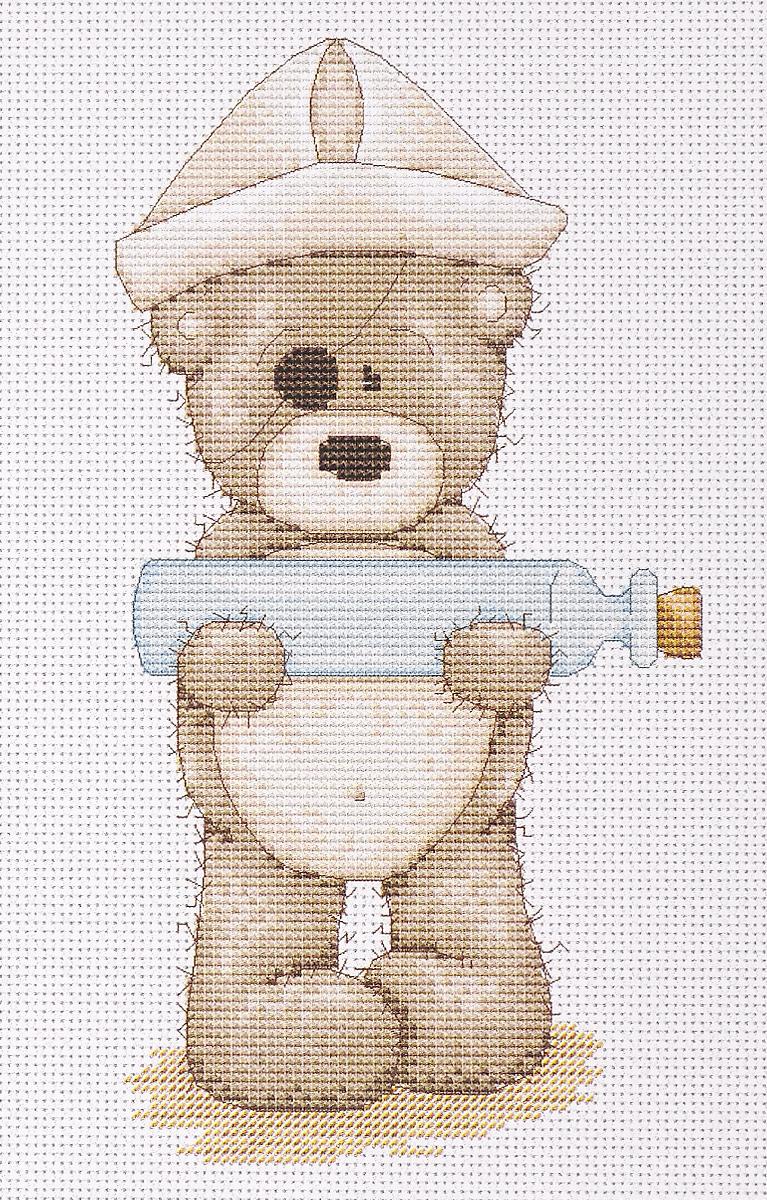 Набор для вышивания крестом Luca-S Медвежонок Бруно, 10,5 х 20 смB1030Набор для вышивания крестом Luca-S  Медвежонок Бруно  поможет создать красивую вышитую картину. Рисунок-вышивка, выполненный на канве, выглядит стильно и модно. Вышивание отвлечет вас от повседневных забот и превратится в увлекательное занятие! Работа, сделанная своими руками, не только украсит интерьер дома, придав ему уют и оригинальность, но и будет отличным подарком для друзей и близких! Набор содержит все необходимые материалы для вышивки на канве в технике счетный крест. В набор входит: - канва Aida 16 Zweigart (белого цвета), - мулине Anchor - 100% мерсеризованный хлопок (18 цветов), - черно-белая символьная схема, - инструкция на русском языке, - игла. Размер готовой работы: 10,5 х 20 см. Размер канвы: 30 х 20 см.