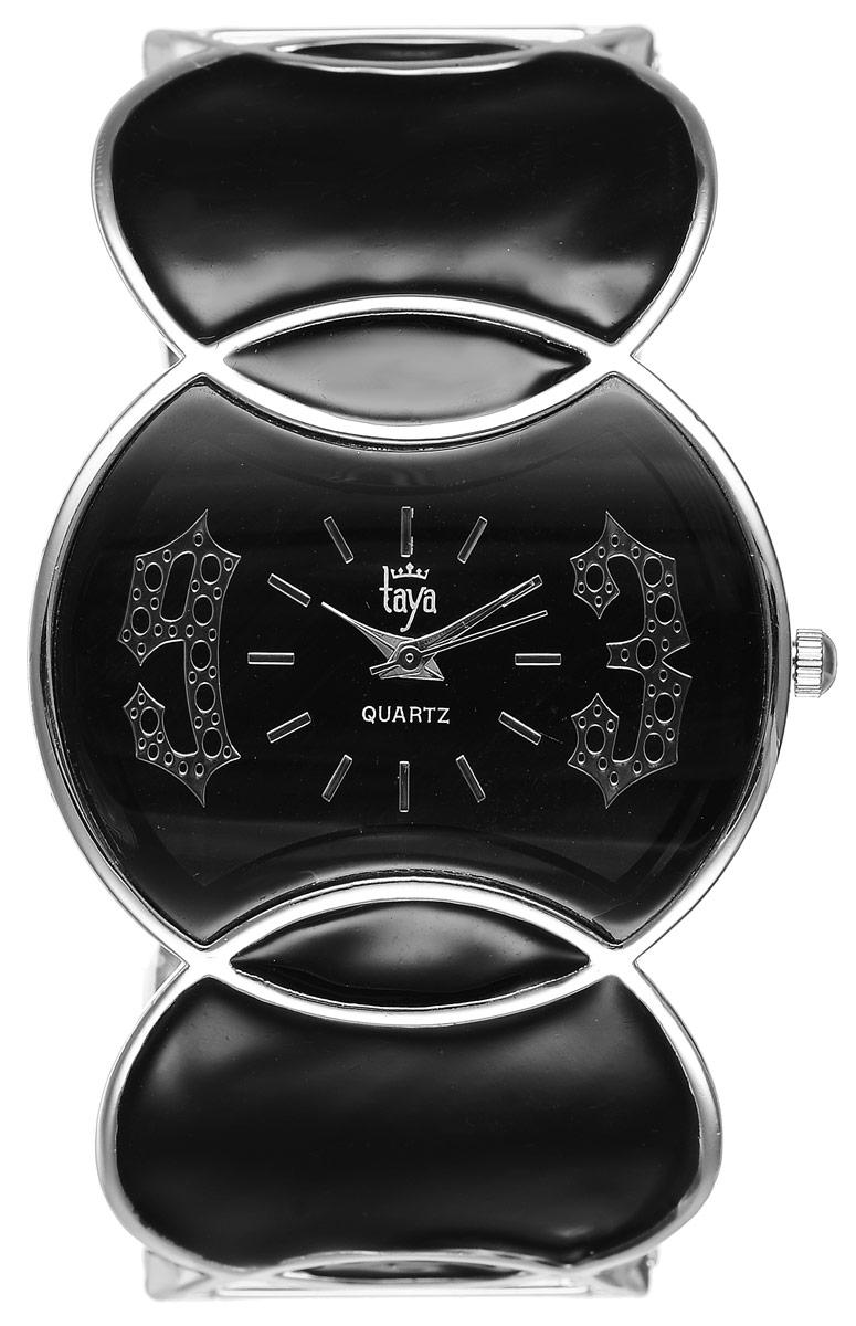 Часы наручные женские Taya, цвет: серебристый, черный. T-W-0442T-W-0442-WATCH-SL.BLACKСтильные женские часы Taya выполнены из минерального стекла и нержавеющей стали. Циферблат часов оформлен символикой бренда. Корпус часов оснащен кварцевым механизмом со сменным элементом питания и дополнен раздвижным браслетом с пружинным механизмом. Браслет оформлен цветной эмалью. Часы поставляются в фирменной упаковке. Часы Taya подчеркнут изящность женской руки и отменное чувство стиля у их обладательницы.