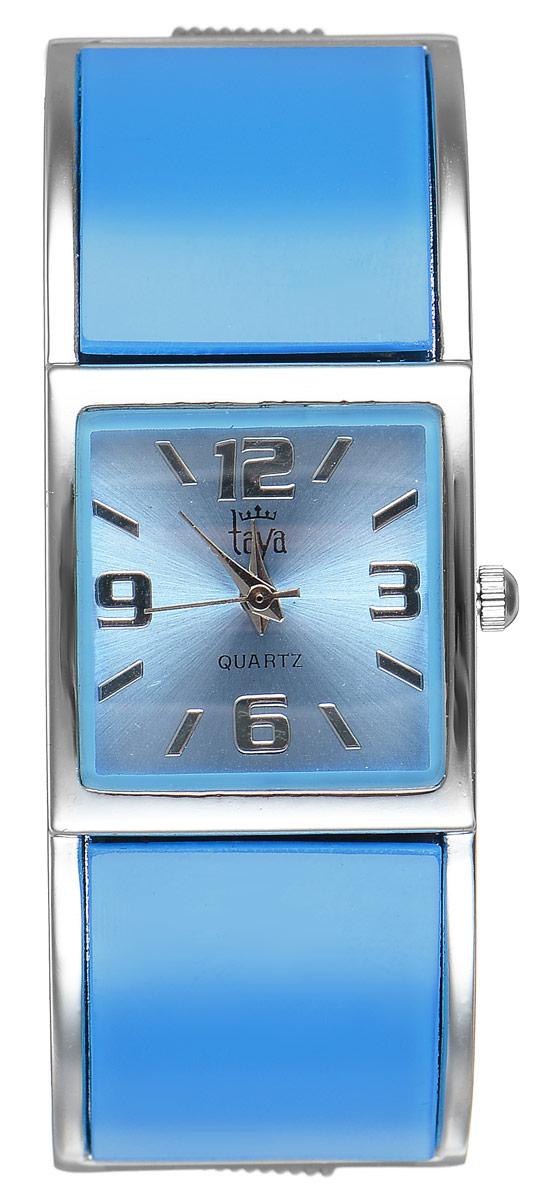 Часы наручные женские Taya, цвет: серебристый, голубой. T-W-0411T-W-0411-WATCH-SL.BLUEСтильные женские часы Taya выполнены из минерального стекла и нержавеющей стали. Циферблат часов оформлен символикой бренда. Корпус часов оснащен кварцевым механизмом со сменным элементом питания и дополнен раздвижным браслетом с пружинным механизмом. Часы поставляются в фирменной упаковке. Часы Taya подчеркнут изящность женской руки и отменное чувство стиля у их обладательницы.