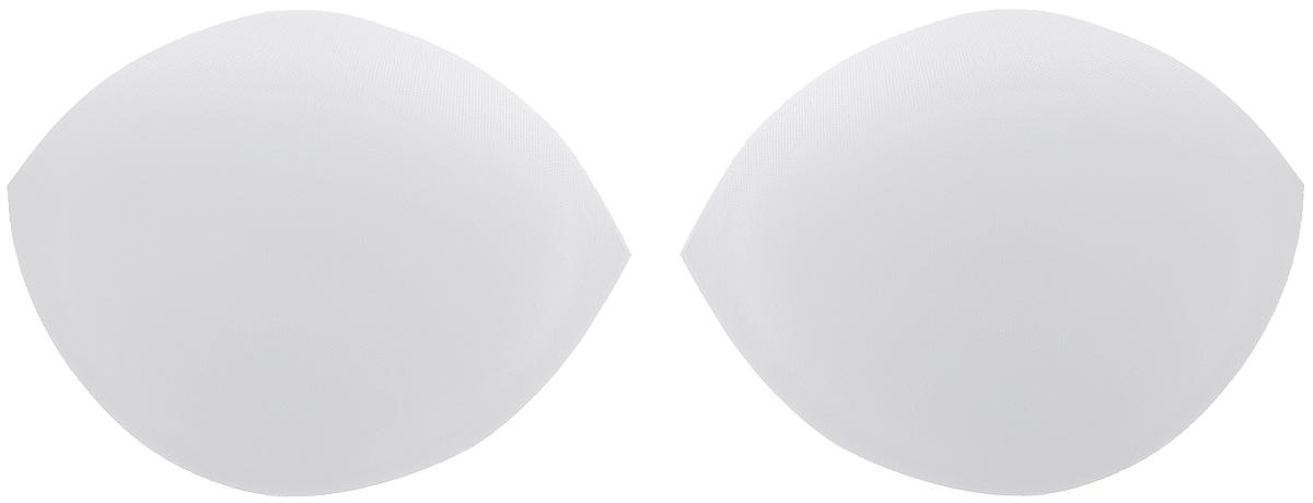 Чашечки для бюстгальтера Hemline, со встроенными вкладками, средние, цвет: белый, 2 шт. Размер 14-16963.M/WHITEЧашечки для бюстгальтера Hemline выполнены из полиэстера и имеют встроенные вкладки, которые приподнимают и поддерживают грудь. Изделие подойдет для бюстгальтера или вечерних платьев. Величина чашки бюстгальтера определяется разницей между обхватом груди и обхватом под грудью. Размеры чашечки: 13 х 9,5 х 4 см. Разница для размера чашки C: 14-16 см.