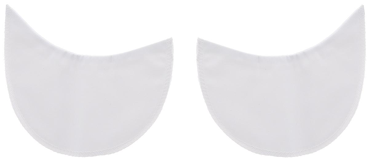 Подмышечники Hemline, для широких рукавов, цвет: белый, 13 х 10 см, 2 шт874.1Подмышечники Hemline изготовлены из хлопка с водонепроницаемой подкладкой и предназначены для защиты одежды с широкими рукавами от пота. Они очень тонкие и незаметны под одеждой. Края изделий обметаны. Подмышечники универсальны и подойдут как для мужчин, так и для женщин. Незаменимы в поездках, путешествиях, на отдыхе, в командировках, в отпуске. Не отдавать в химчистку. Комплектация: 2 шт. Размеры (в сложенном виде): 13 х 10 см.