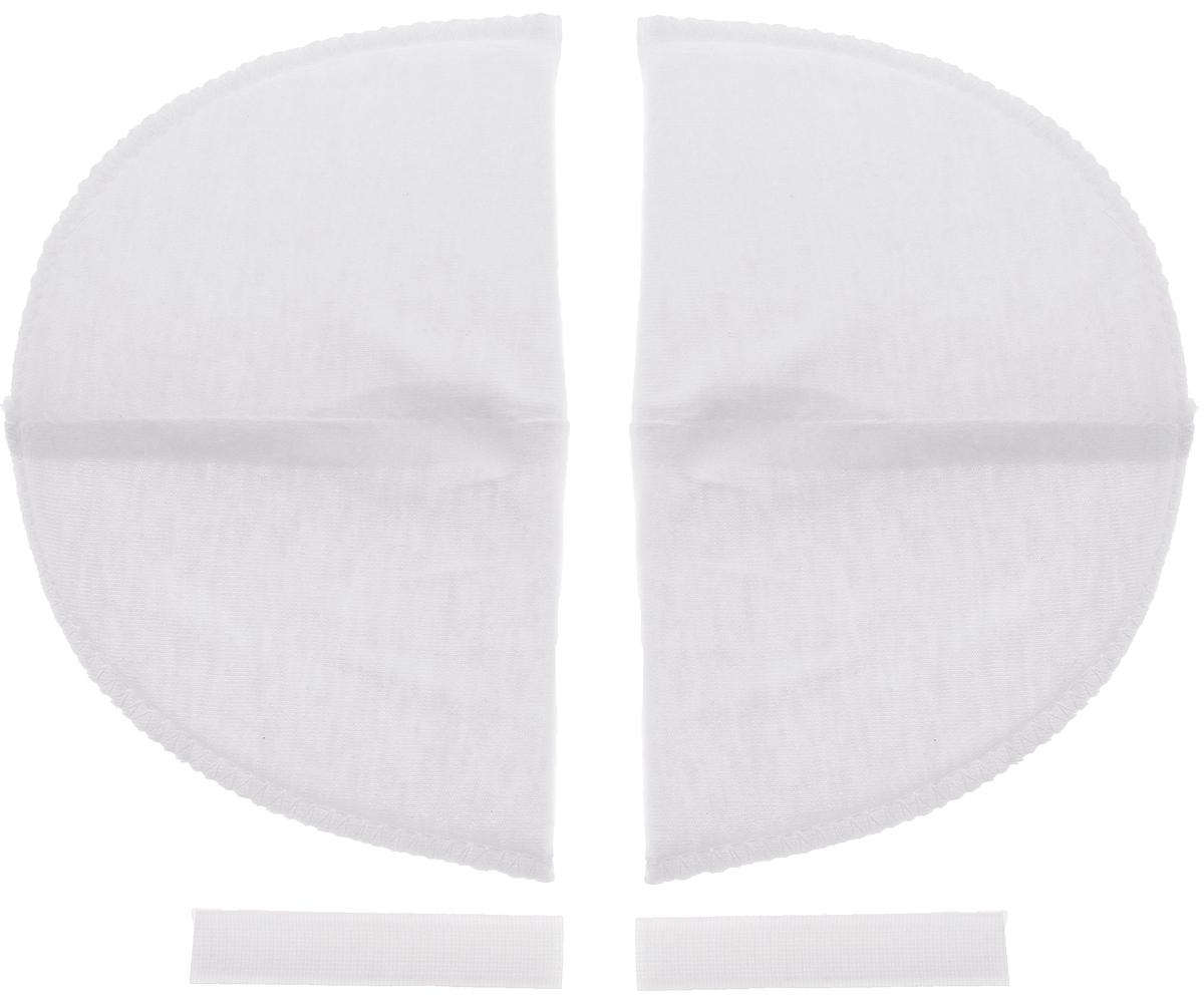 Накладки плечевые Hemline для втачных рукавов, на липучке, маленькие, цвет: белый, толщина 13 мм, 2 шт902.SПлечевые накладки Hemline, выполненные из поролона и хлопка, используются при пошиве блузок и платьев из легких тканей со втачной формой рукава. Они не соскальзывают с плеч, благодаря застежке-липучке, которую можно зафиксировать с помощью утюга или пришить. Края накладок обметаны. Размер: 14 х 9 см.
