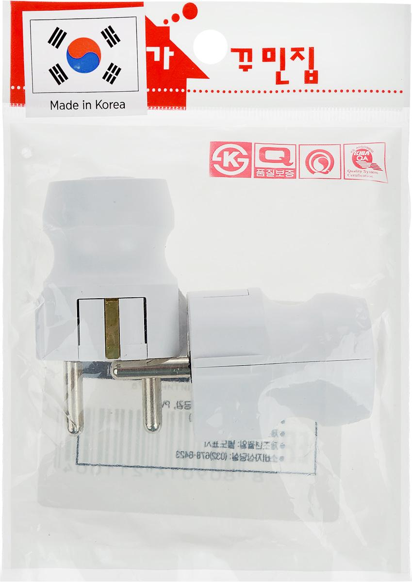 Вилка электрическая Daesung, круглая, прямая, 16 А, 250 В, 2 шт. ETC3103ETC3103Набор электрических вилок Daesung выполнен из поликарбоната. Изделия предназначены для присоединения (разъединения) к электрической сети различных электрических приборов бытового назначения. Вилки позволяют произвести ремонт электрошнура в случае выхода из строя или повреждения неразборной вилки. Размер вилки: 6 х 3 х 3 см.