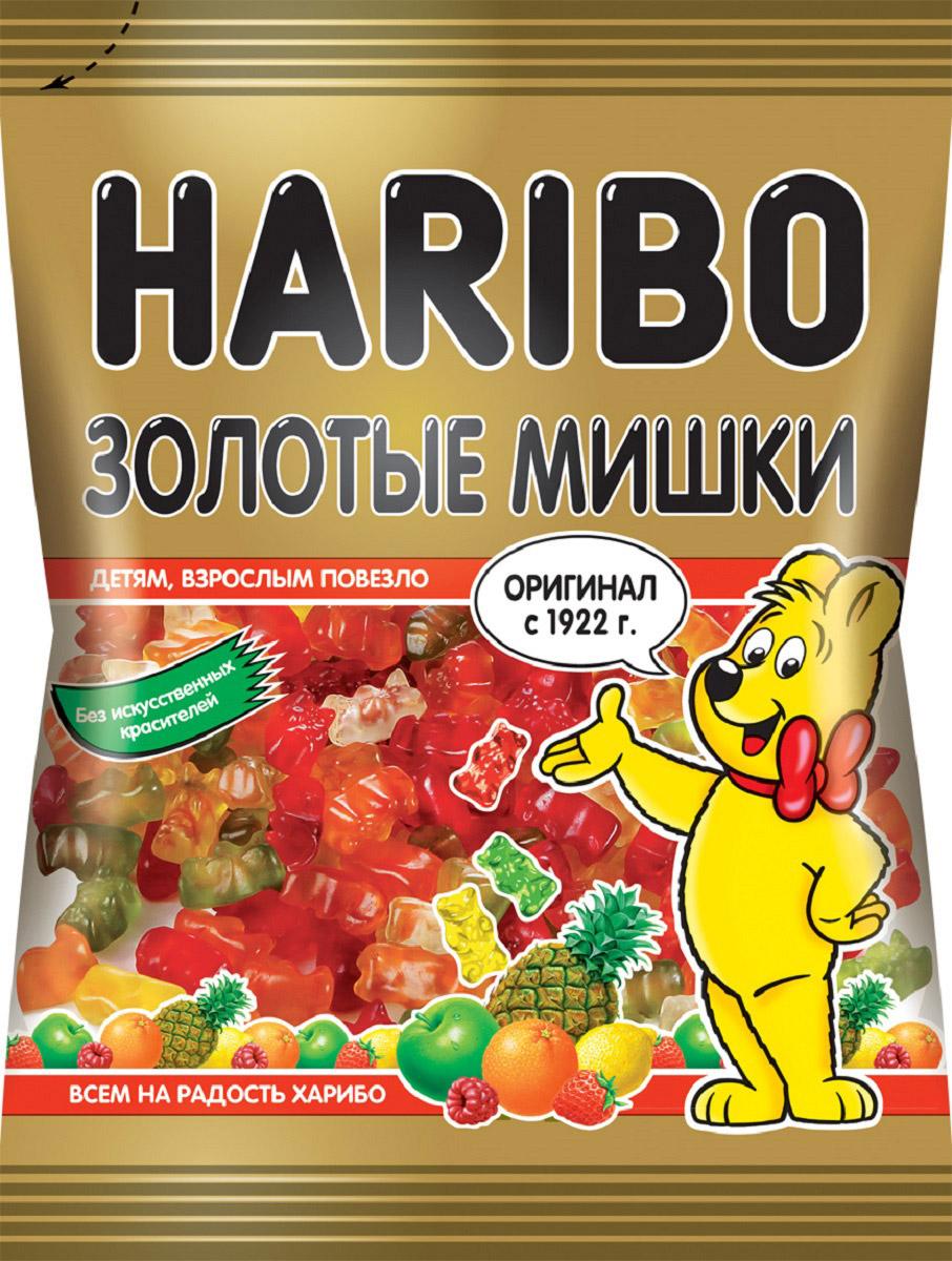 Haribo Золотые мишки жевательный мармелад, 140 г