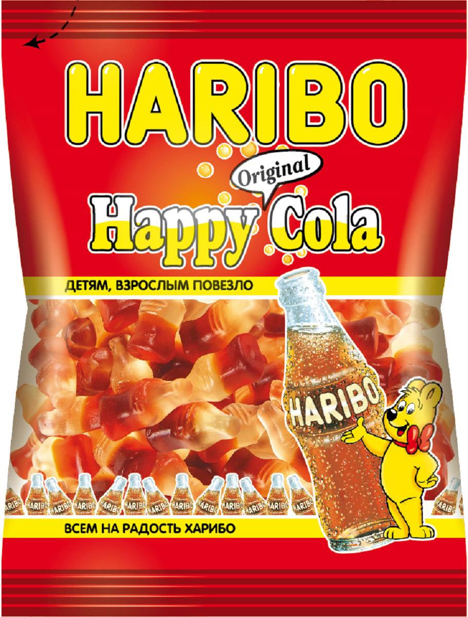 Haribo Happy Cola жевательный мармелад, 140 г