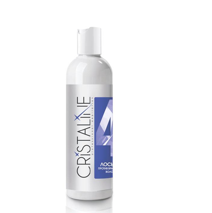 CRISTALINE Лосьон против врастания волос 250 мл Cristaline NG403025NGСредства после депиляции против врастания волос служат одной цели – предотвратить гиперкератоз, возникающий после эпиляции. Для этого в состав лосьона входит салициловая кислота, которая способствует нормальному отшелушиванию кожи, предотвращает воспаление и покраснение. Те, кто регулярно использует лосьон против вросших волос, отзывы оставляют самые положительные, ведь они избавились от этой проблемы раз и навсегда. Попробуйте и Вы!