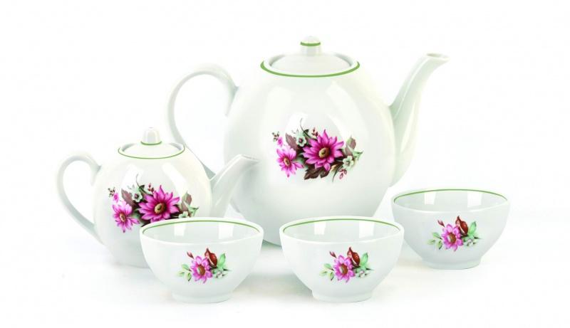 Набор чайный Фарфор Вербилок Собрание. Флора. 47802804780280Предметы выполнены так, чтобы Вам было максимально удобно держать их в руках во время чаепития.