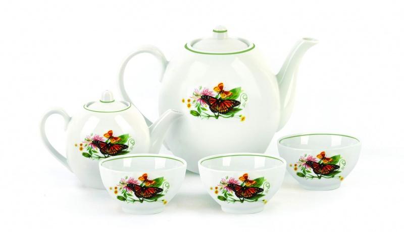Набор чайный Фарфор Вербилок Собрание. Бабочки. 47805904780590Предметы выполнены так, чтобы Вам было максимально удобно держать их в руках во время чаепития.