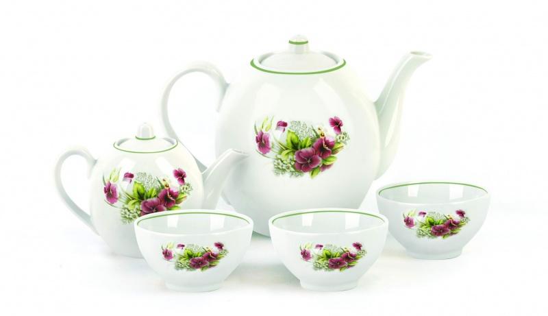 Набор чайный Фарфор Вербилок Собрание. Виола. 47807504780750Предметы выполнены так, чтобы Вам было максимально удобно держать их в руках во время чаепития.