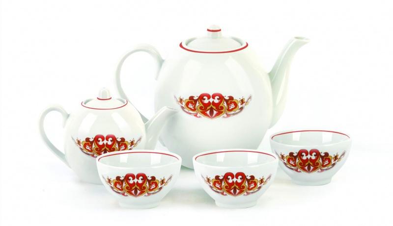 Набор чайный Фарфор Вербилок Собрание. Казань. 47807704780770Предметы выполнены так, чтобы Вам было максимально удобно держать их в руках во время чаепития.