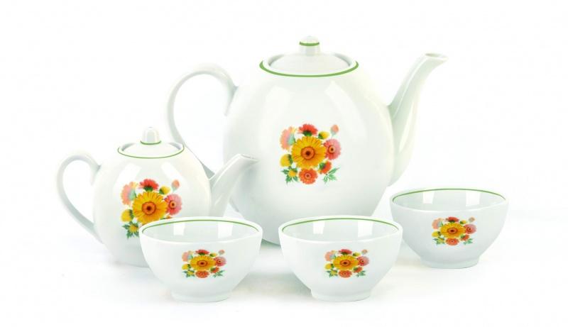 Набор чайный Фарфор Вербилок Собрание. Оранжевые герберы. 47816704781670Предметы выполнены так, чтобы Вам было максимально удобно держать их в руках во время чаепития.