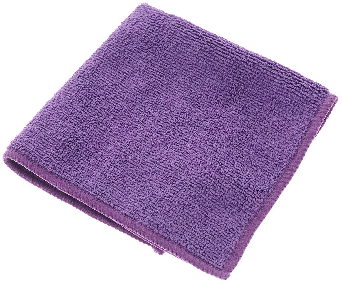 Салфетка для кухни Soavita, цвет: фиолетовый, 30 х 30 см63847Салфетка Soavita выполнена из микрофайбера (80% полиэстер и 20% полиамид). Изделие отлично впитывает влагу, быстро сохнет, сохраняет яркость цвета и не теряет форму даже после многократных стирок. Салфетка подходит для вытирания легких загрязнений и полировки. Протертая поверхность становится идеально чистой, сухой и блестящей. Такая салфетка очень практична и неприхотлива в уходе. Рекомендуется стирка при температуре 40°C.
