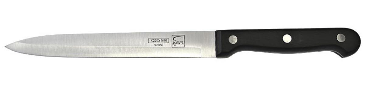 Нож кухонный Marvel Classic Series, цвет: серый, длина лезвия 15 см. 9206092060
