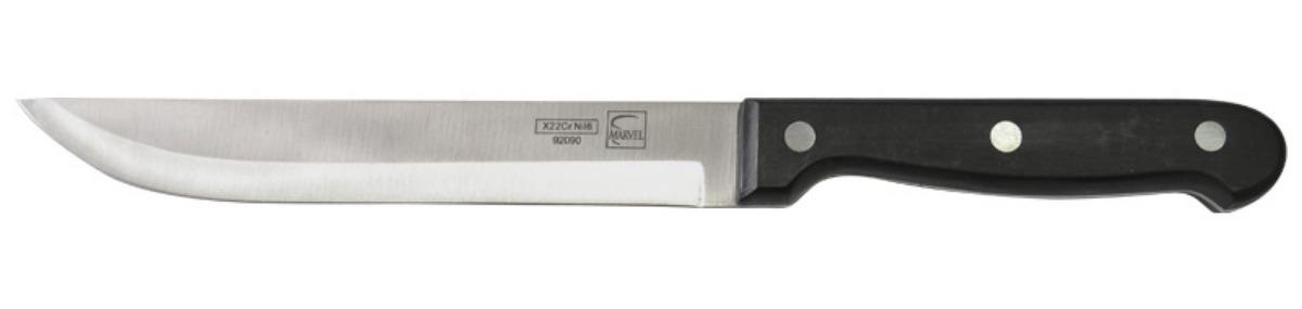 Нож для нарезки мяса Marvel Classic Series, цвет: серый, длина лезвия 17 см. 9209092090