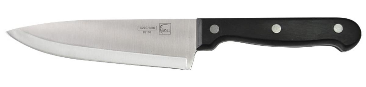 Нож кухонный Marvel Classic Series, цвет: серый, длина лезвия 15 см. 9216092160