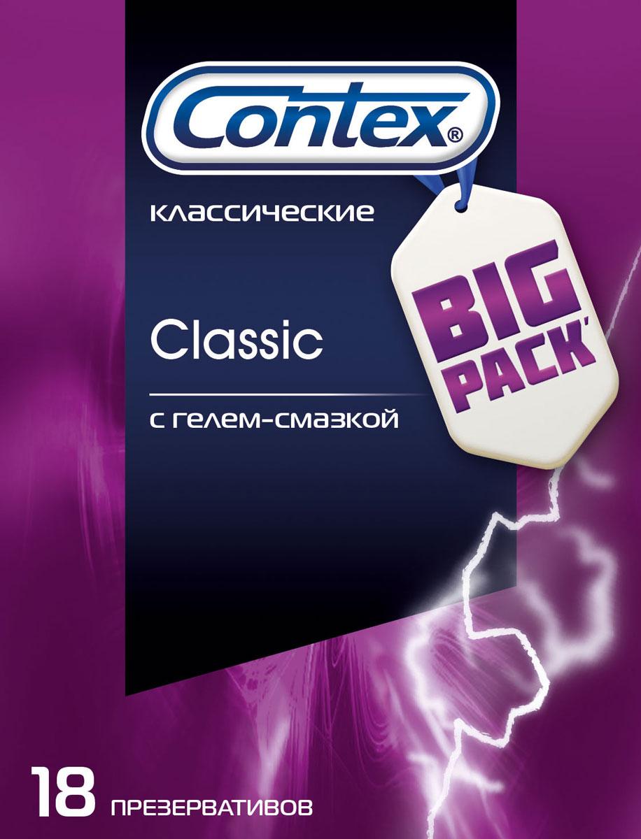 Contex Презервативы Classic, естественные ощущения, 18 шт