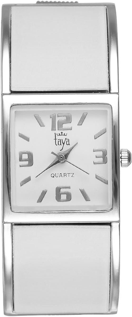 Часы наручные женские Taya, цвет: серебристый, белый. T-W-0407T-W-0407-WATCH-SL.WHITEСтильные женские часы Taya выполнены из минерального стекла и нержавеющей стали. Циферблат часов оформлен символикой бренда. Корпус часов оснащен кварцевым механизмом со сменным элементом питания и дополнен раздвижным браслетом с пружинным механизмом. Часы поставляются в фирменной упаковке. Часы Taya подчеркнут изящность женской руки и отменное чувство стиля у их обладательницы.