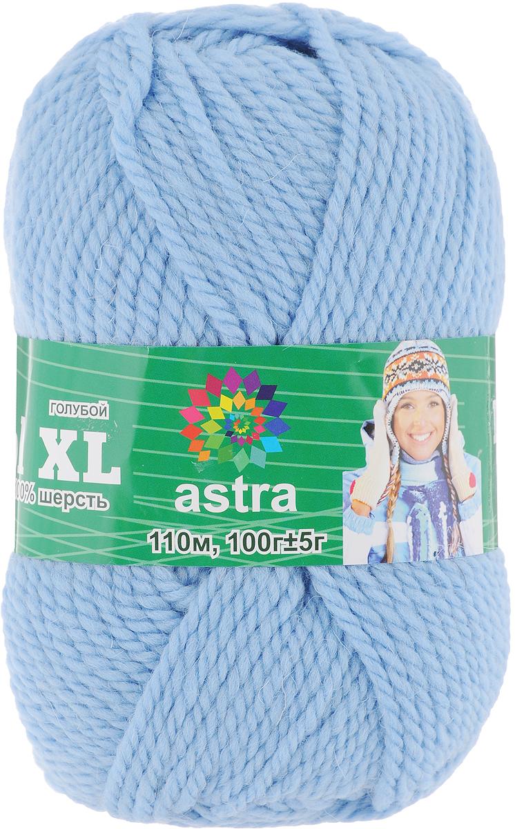 Пряжа для вязания Астра Wool XL, цвет: голубой, 110 м, 100 г, 3 шт488343_голубойПряжа для вязания Астра Wool XL изготовлена из мягкой и высококачественной натуральной шерсти. Из такой пряжи получается тонкий и теплый трикотаж. Волокно имеет высокую упругость, поэтому хорошо держит форму, обладает высокой гигроскопичностью и отводит влагу от тела. Рекомендуемый размер спиц: 3-5 мм. Рекомендуемый размер крючка: 3-5 мм. Состав: 100% импортная полутонкая шерсть.