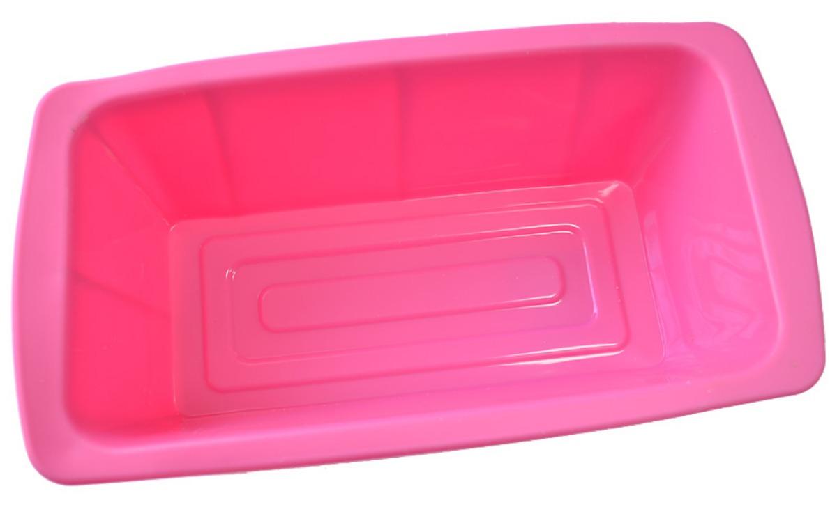 Форма для кекса Marvel, цвет: розовый, 25,3 х 13,2 х 6,5 см4018