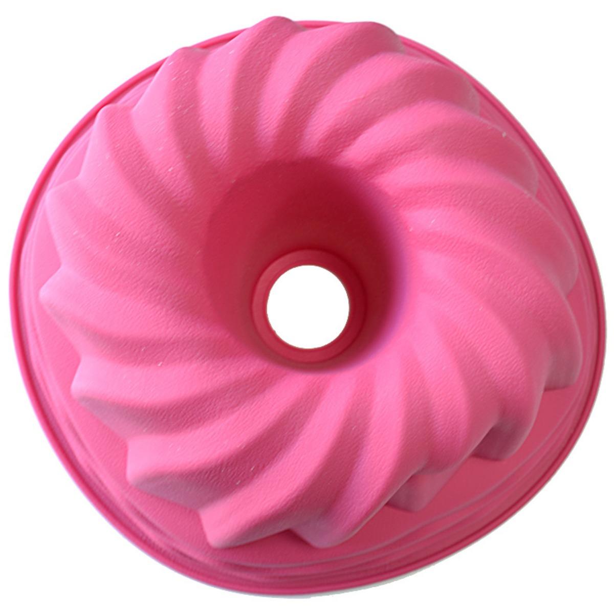 Форма для кекса Marvel, цвет: розовый, диаметр 24 см4122