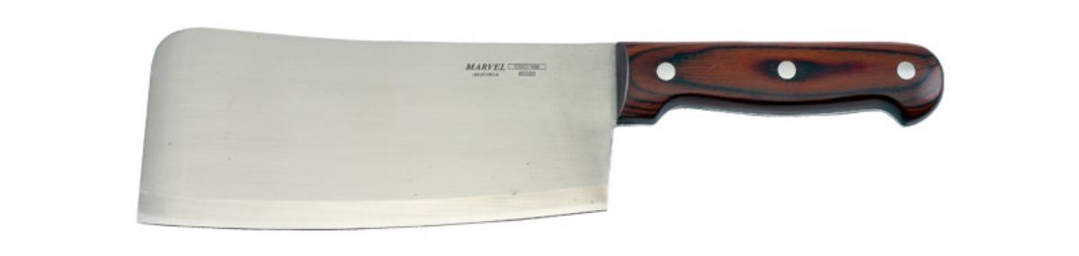 Нож для рубки мяса Marvel Rose Wood Original, цвет: серый, длина лезвия 8 предметов. 8502085020