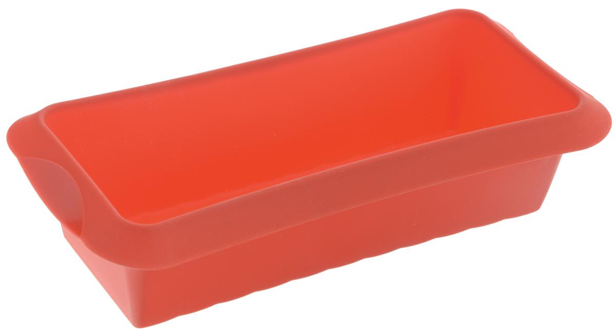 Форма для выпечки кекса Lekue, силиконовая, цвет: красный, 24 х 10 см1210524R01M033Форма Lekue, выполненная из высококачественного силикона, предназначена для изготовления кексов и другой выпечки. С помощью формы любой день можно превратить в праздник и порадовать своих близких. Силиконовые формы выдерживают высокие и низкие температуры от -40°С до +220°С. Они эластичны, износостойки, легко моются, не горят и не тлеют, не впитывают запахи, не оставляют пятен. Силикон абсолютно безвреден для здоровья. Изделие подходит для использования в духовке и микроволновой печи. Не используйте моющие средства, содержащие абразивы. Можно мыть в посудомоечной машине. Внутренний размер формы: 24 х 10 см. Размер формы (с учетом ручек): 28 х 13 см. Высота стенки формы: 7 см.