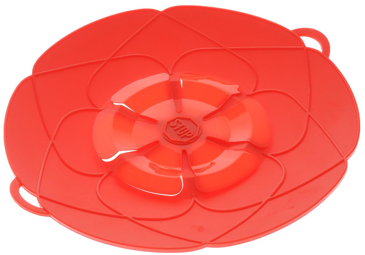 Крышка-невыкипайка Mayer & Boch, цвет: красный, диаметр 25 см24256_красныйКрышка-невыкипайка Mayer & Boch изготовлена из термостойкого силикона высокого качества, поэтому не теряет формы при воздействии высоких температур. Подходит для посуды диаметром 15-25 см. Изделие предотвращает выкипание, защищает мебель и плиту от брызг масла при жарке продуктов, следовательно, ваша кухня всегда будет в чистоте. Крышку также можно использовать для приготовления пищи на пару. Можно мыть в посудомоечной машине, использовать в СВЧ и в холодильнике. При хранении в прохладных местах крышка обеспечит свежесть продуктов. При использовании крышки в микроволновой печи масло не разбрызгивается.