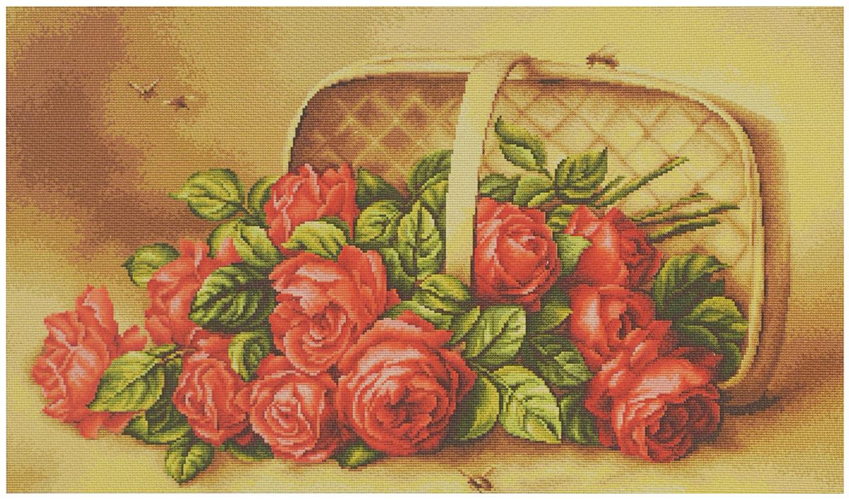 Набор для вышивания крестом Luca-S Розы в корзине, 57 х 35 смB499Набор для вышивания крестом Luca-S Розы в корзине, поможет создать красивую вышитую картину. Рисунок-вышивка, выполненный на канве, выглядит стильно и модно. Вышивание отвлечет вас от повседневных забот и превратится в увлекательное занятие! Работа, сделанная своими руками, не только украсит интерьер дома, придав ему уют и оригинальность, но и будет отличным подарком для друзей и близких! Набор содержит все необходимые материалы для вышивки на канве в технике счетный крест. В набор входит: - канва Aida 16 Zweigart (светло-бежевого цвета), - мулине Anchor - 100% мерсеризованный хлопок (35 цветов), - черно-белая символьная схема, - инструкция на русском языке, - игла. Размер готовой работы: 57 х 35 см Размер канвы: 68 х 46 см.