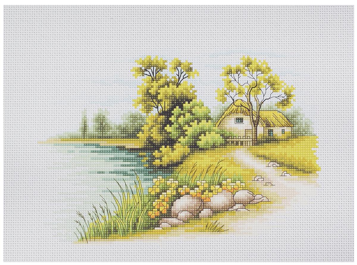Набор для вышивания крестом Luca-S Пейзаж с озером, 20 х 14 смB2283Набор для вышивания крестом Luca-S Пейзаж с озером, поможет создать красивую вышитую картину. Рисунок-вышивка, выполненный на канве, выглядит стильно и модно. Вышивание отвлечет вас от повседневных забот и превратится в увлекательное занятие! Работа, сделанная своими руками, не только украсит интерьер дома, придав ему уют и оригинальность, но и будет отличным подарком для друзей и близких! Набор содержит все необходимые материалы для вышивки на канве в технике счетный крест. В набор входит: - канва Aida 16 Zweigart (белого цвета), - мулине Anchor - 100% мерсеризованный хлопок (36 цветов), - черно-белая символьная схема, - инструкция на русском языке, - игла. Размер готовой работы: 20 х 14 см br> Размер канвы: 32 х 30 см.