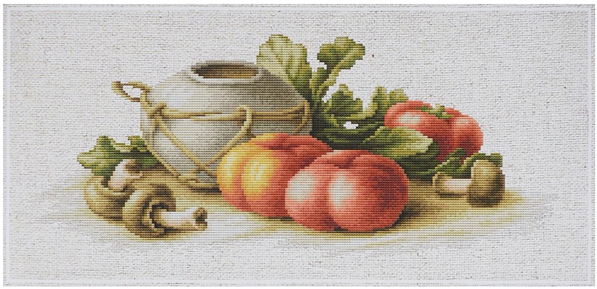 Набор для вышивания крестом Luca-S Натюрморт с овощами, 28 х 12 смBL2249Набор для вышивания крестом Luca-S Натюрморт с овощами поможет создать красивую вышитую картину. Рисунок-вышивка, выполненный на канве, выглядит стильно и модно. Вышивание отвлечет вас от повседневных забот и превратится в увлекательное занятие! Работа, сделанная своими руками, не только украсит интерьер дома, придав ему уют и оригинальность, но и будет отличным подарком для друзей и близких! Набор содержит все необходимые материалы для вышивки на канве в технике счетный крест. В набор входит: - канва Perlleinen 20 cf (53) Zweigart (светло-бежевого цвета), - мулине Anchor - 100% мерсеризованный хлопок (38 цветов), - черно-белая символьная схема, - инструкция на русском языке, - игла. Размер готовой работы: 28 х 12 см. Размер канвы: 42,5 х 25,5 см.