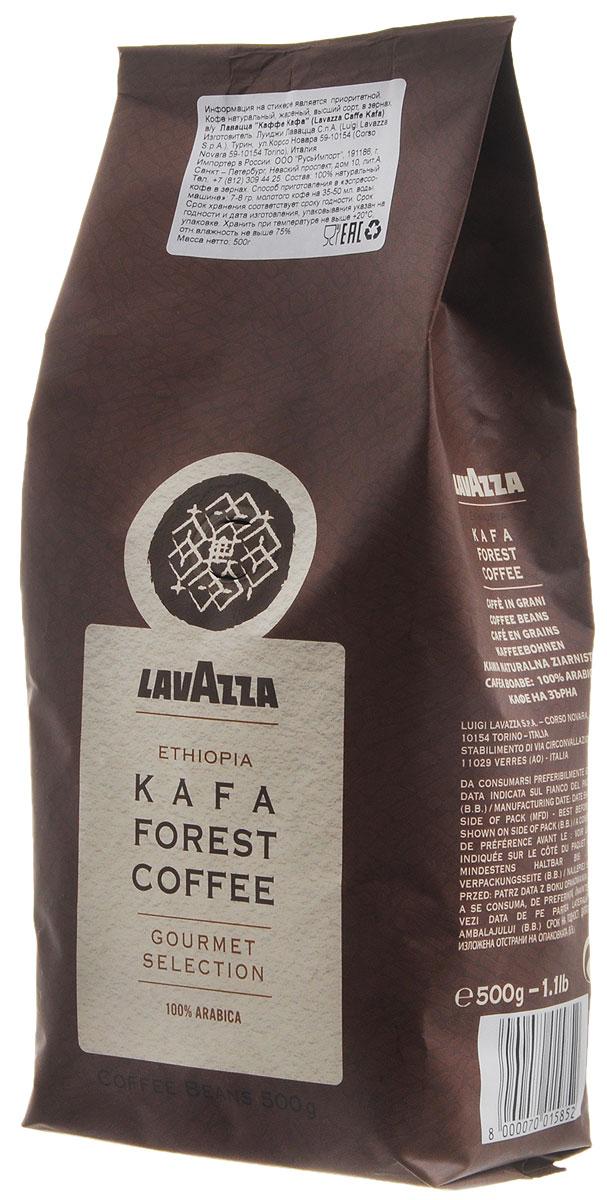 Lavazza Kafa Forest Coffee кофе в зернах, 500 г8000070015852Lavazza Kafa Forest Coffee - высококачественный кофе с изысканным благородным вкусом и интенсивным ароматическим букетом. В его мягком послевкусии звучат сладкие нотки цветочного меда и спелых фиников. Рекомендуется для приготовления в эспрессо-машине, фильтр-кофеварке, турке.